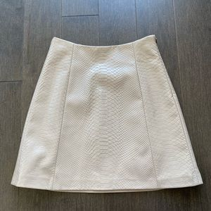 Babaton modern mini skirt